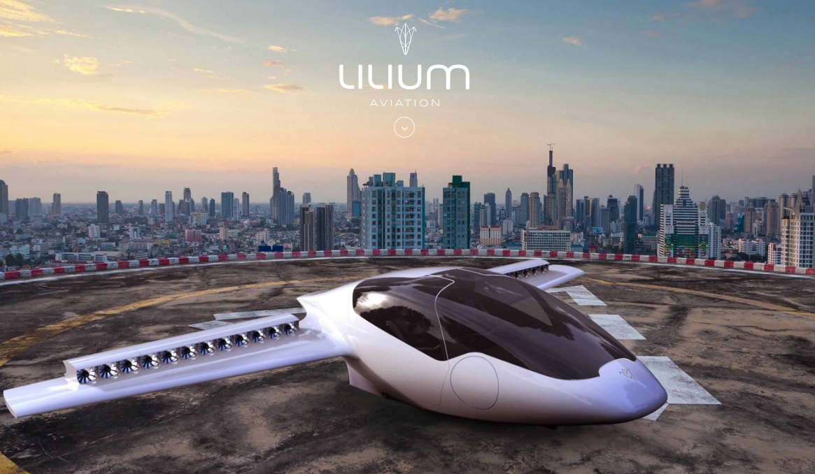 AirTaxi: Lilium's CEO Daniel Wiegand sharing his thoughts on the future  development of Lilium in the AirTaxi market.
