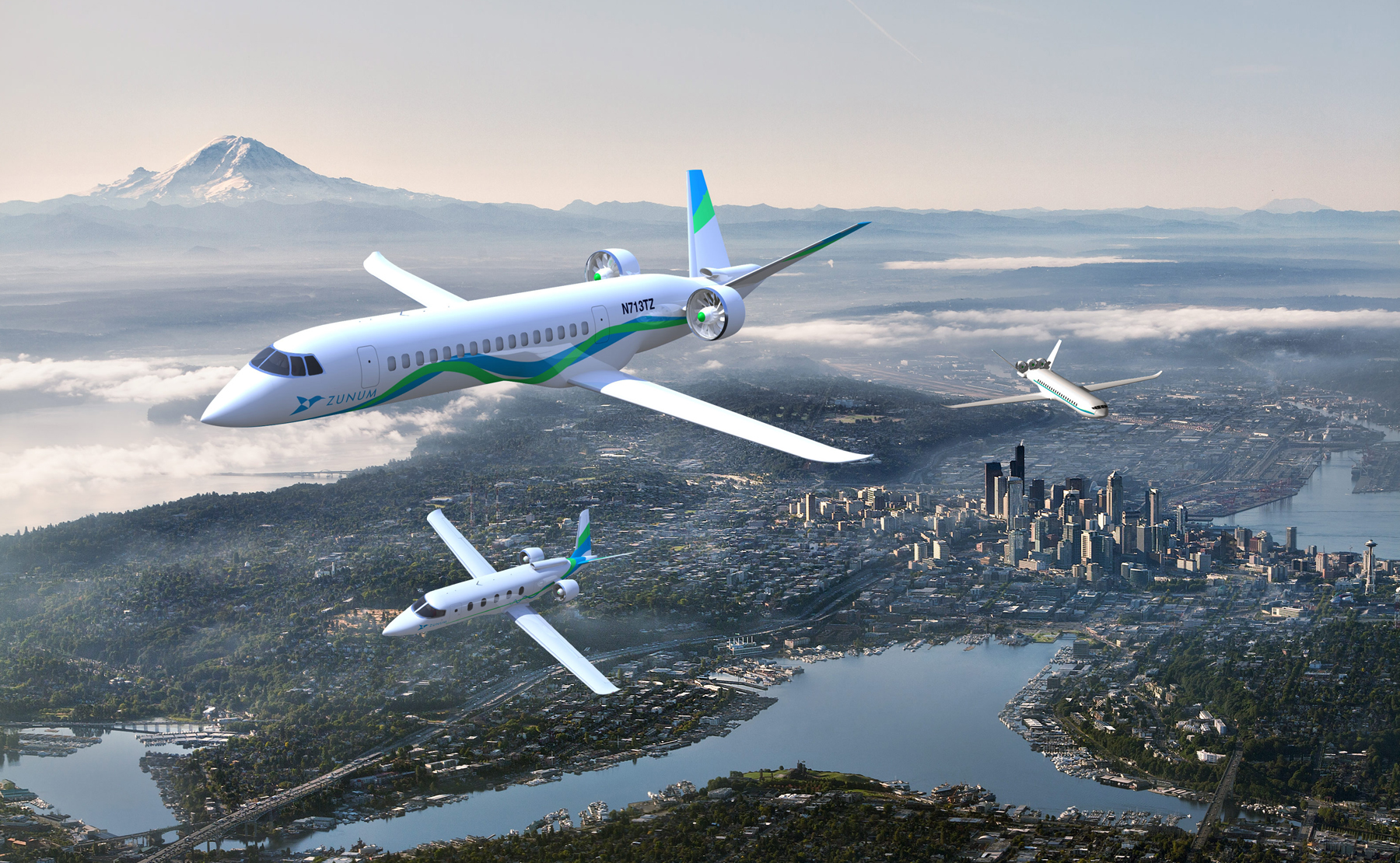 Zunum's A10 all electric aircraft design: